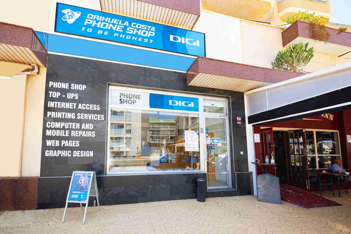 phone shop in orihuela costa